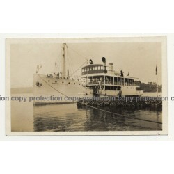 Keshero - Goma / Congo: Steamer General Tombeur (Vintage Photo B/W ~1930s/1940s)