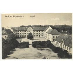 6440 Augustenborg / Denmark: Castle  (Vintage Postcard B/W)