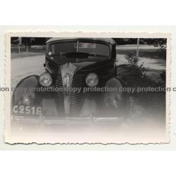Léopoldville / Congo: Hudson Terraplane Deluxe Cabrio (Vintage Photo B/W ~1930s/1940s)