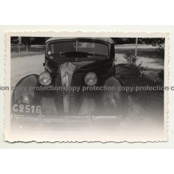 Léopoldville / Congo: Hudson Terraplane Deluxe Cabrio (Vintage Photo B/W 1939)