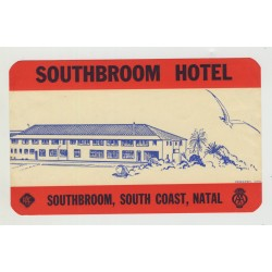 Southbroom Hotel - Natal / South Africa (Vintage Luggage Label)