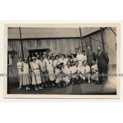 Elisabethville / Congo: Tennis Players Of B.C.K. *1 (Vintage Photo B/W 1934)