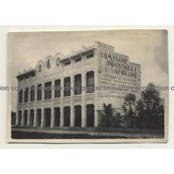 Elisabethville / Congo: Compagnie Industrielle Africaine (Vintage Photo B/W 1929)