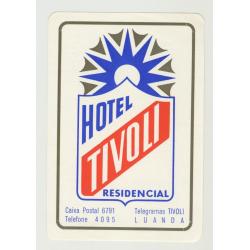 Hotel Tivoli Residencial - Luanda / Angola (Vintage Luggage Label)