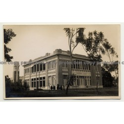 Congo / Africa: Nursery Of Elisabethville (Vintage RPPC B/W ~1930s)