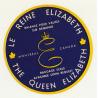 Hotel Le Reine Elizabeth / The Queen Elizabeth - Montreal / Canada (Vintage Luggage Label)