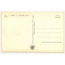 Congo / Africa: Voyage Du Roi Au Congo - Été 1955 (Vintage Postcard)
