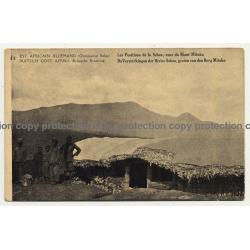 East Africain Allemand 41: Le Positions de la Sebea / Mont Mitoko (Vintage Postal Stationery)