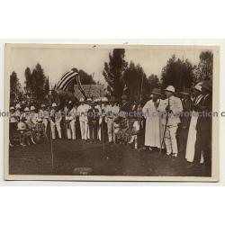 Le Kivu / Congo Belge: Saut En Hauteur - Watusi - Indigène Du Ruanda (Vintage RPPC B/W)