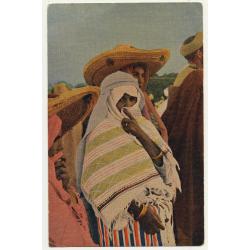 Marruecos / Morocco: Tipo De Mujer Musulmana / Muslima (Vintage Artist Postcard)