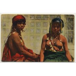 55 Scenes Et Types: Femme Mauresque / Nude Breast (Vintage Postcard)
