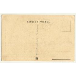 Larache / Morocco: Arco De Entrade A La Plaza Del Ejército (Vintage Postcard)