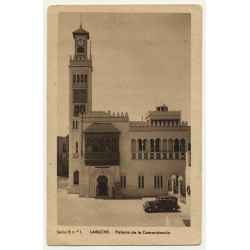 Larache / Morocco: Palacio De La Comandancia (Vintage Postcard)