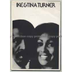 Ike & Tina Turner / Rare Vintage United Artists Promo Picture Folder 1970s
