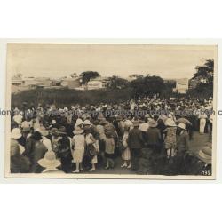 Jadotville - Likasi / Congo Belge: Marché / Local Market (Vintage RPPC B/W ~1930s)