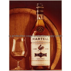 Martell Cognac - 5 Ans (Vintage Advertisement Photo Master 1970s Large)