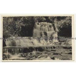 Congo Belge: Waterfall / Léopold Gabriel? (Vintage RPPC ~1920/1930s)