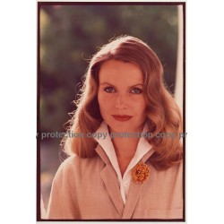 Promotional Hair Photo: Blonde Woman (Vintage Photo Germany 1980s)