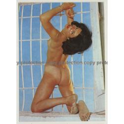 Nude Showgirl Melina / Night-Cabaret Dorett - Kurfürstendamm (Vintage PC Berlin 1960s)