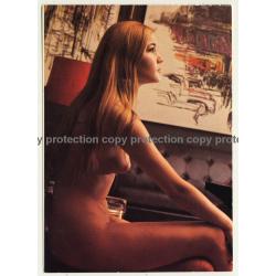 Nude Showgirl Sheila / Night-Cabaret Dorett - Kurfürstendamm (Vintage PC Berlin 1960s)