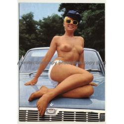 Nude Showgirl Angelika / Night-Cabaret Dorett - Kurfürstendamm (Vintage PC Berlin 1960s)