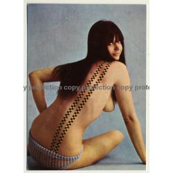 Nude Showgirl Juliette / Night-Cabaret Dorett - Kurfürstendamm (Vintage PC Berlin 1960s)